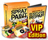 Car Spray Painting Videos | $45.73 Per Sale | 7.6% Conversions! product box